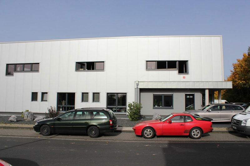 Architekt Troisdorf Peter Kröker Gewerbe Produktionshalle