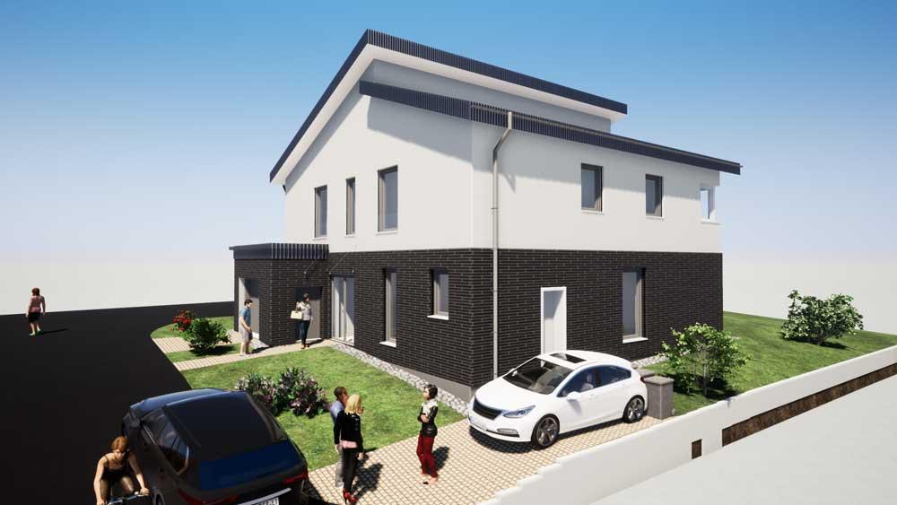 Architekt Troisdorf Peter Kröker Einfamilienhaus